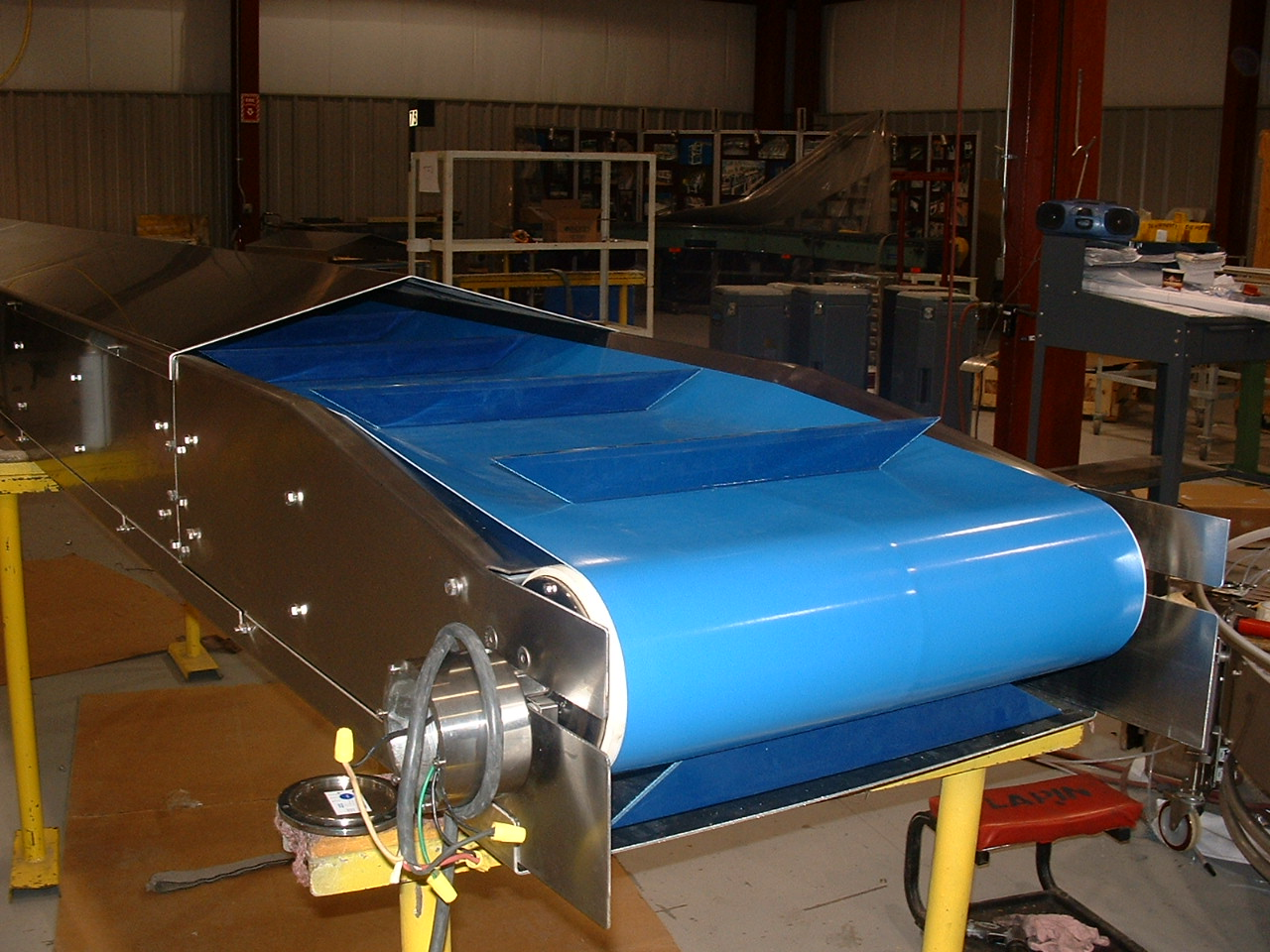 Intralox Thermodrive 174 And Volta Superdrive Conveyors